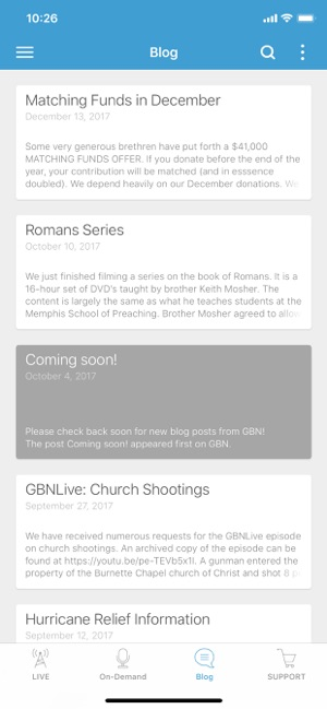 G B N  on the App Store