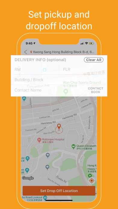 Lalamove - Fast Delivery App screenshot two