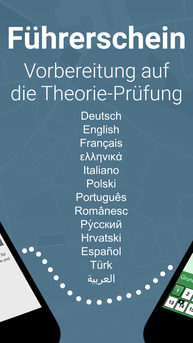Screenshot for Führerschein multilingual GOLD in Argentina App Store