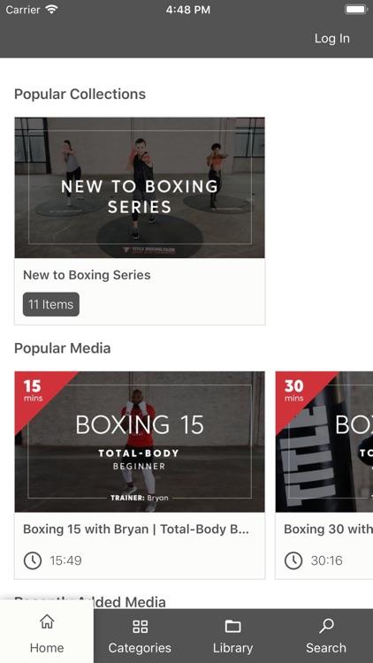 TITLE Boxing Club On Demand screenshot-4