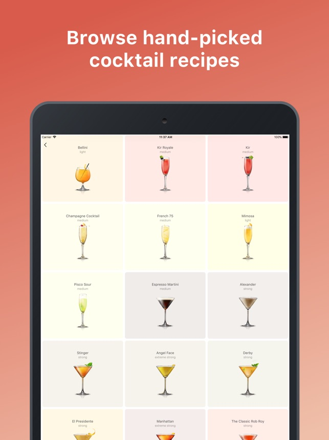 Cocktail Flow - Drink Recipes on the App Store