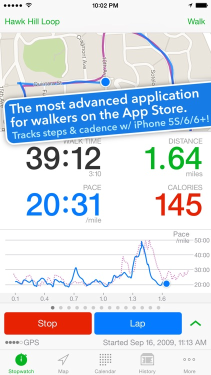 Walkmeter Walking & Hiking GPS