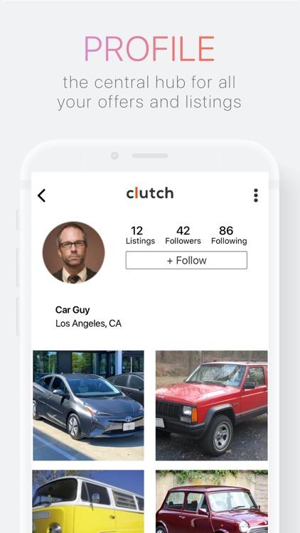 Clutch: Buy & Sell Used Cars screenshot-4