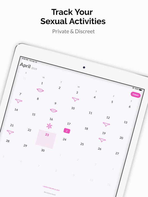 Sex Tracker by Nice screenshot