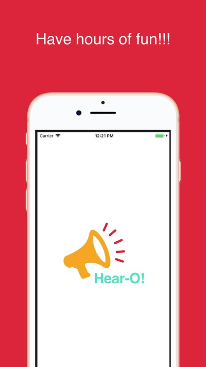 Hear-O! Funny Voice Changer screenshot-4
