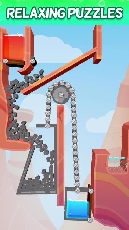 Splash Canyon - Water Puzzles screenshot-4