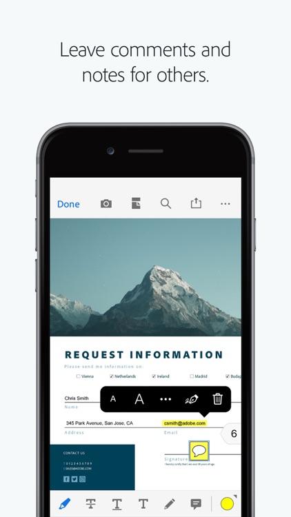 Adobe Acrobat Reader screenshot-7