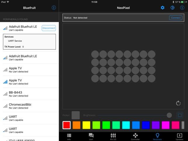 Adafruit Bluefruit LE Connect on the App Store