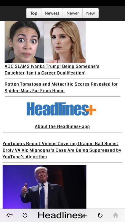 Headlines Plus