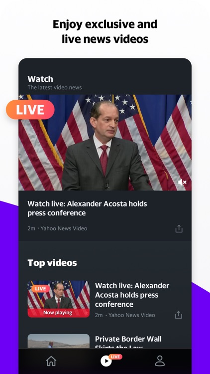 Yahoo News: Live Breaking News screenshot-3