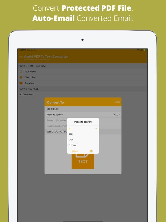 Aadhi PDF to Text Converter screenshot 9