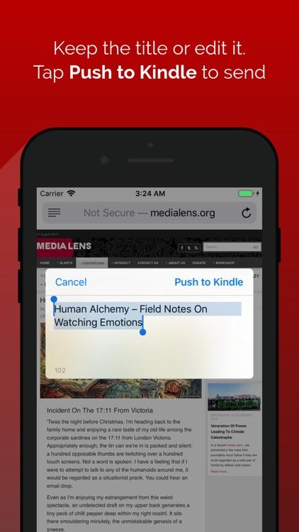 Push for Kindle screenshot-3