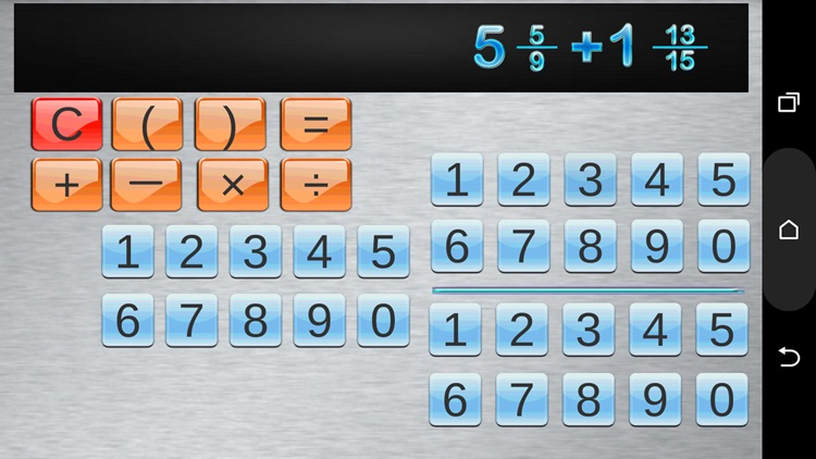 Fraction Calculator & progress screenshot-3