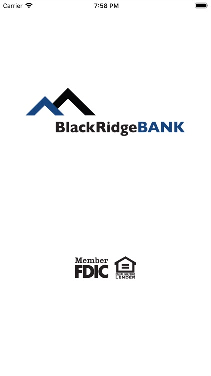 BlackRidgeBANK Mobile App