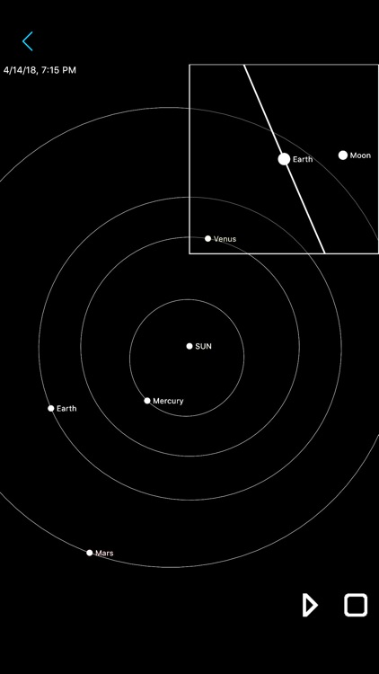 Constellation Map mobile