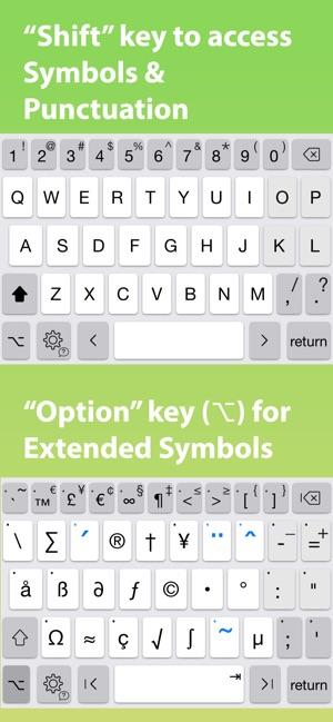PadKeys Keyboard Screenshot