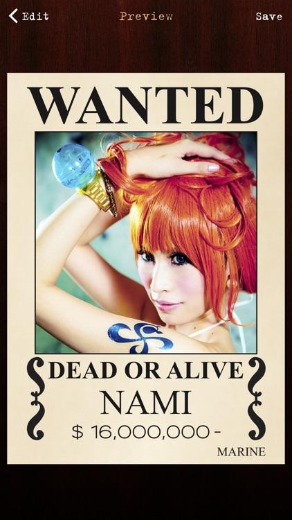 Wanted Poster Pro screenshot-3