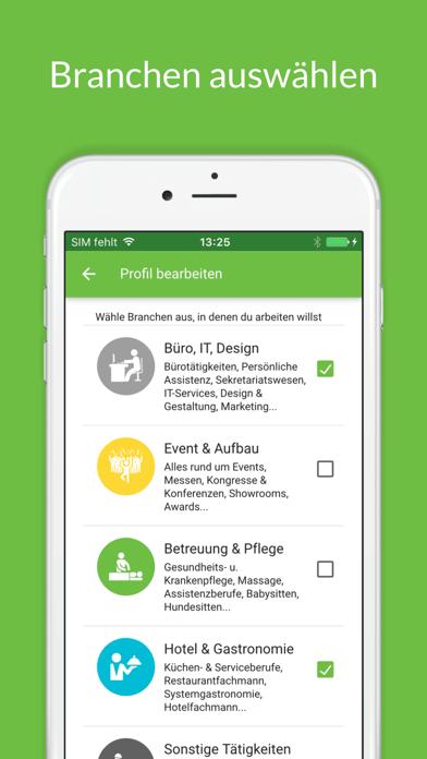 Screenshot for JobCheck - Teilzeitjobs & Jobs in Austria App Store