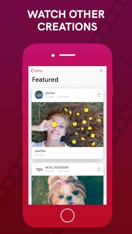 Vizmato: Video Editor & Filter screenshot-6
