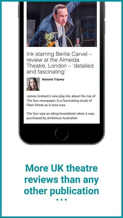 The Stage: Theatre News & Jobs screenshot-2