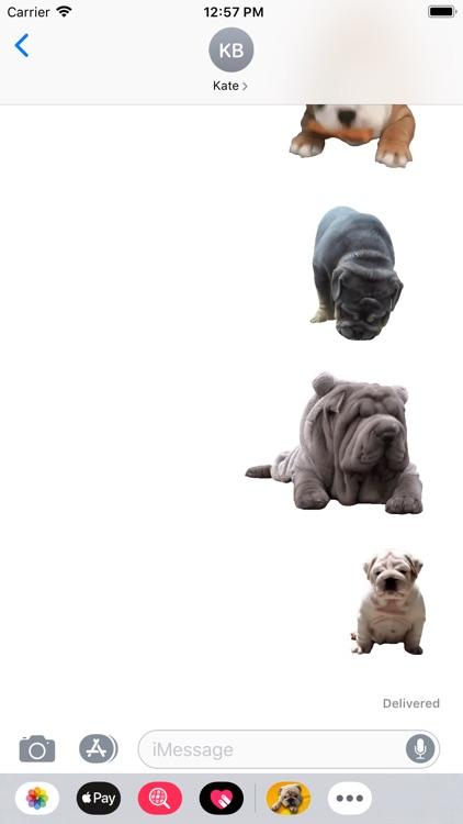 Bulldog Sticker screenshot-3