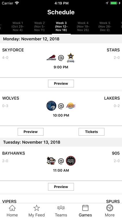 NBA G League screenshot-1