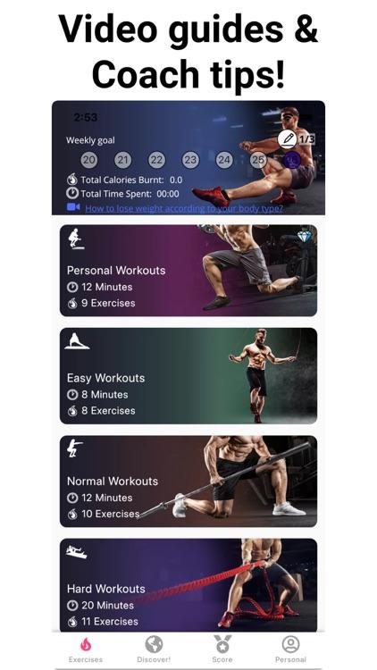 Leg Workouts Lower Body men screenshot-7