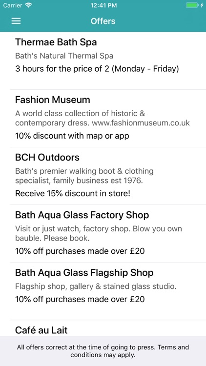 Bath Sussed Out Tourist Map screenshot-3