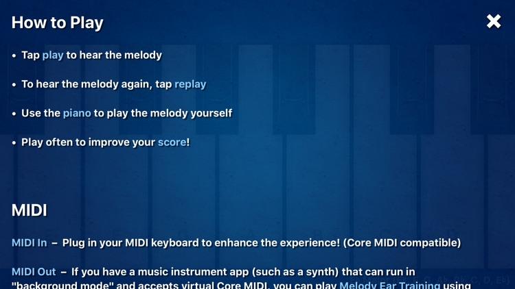 Melody Ear Training screenshot-3