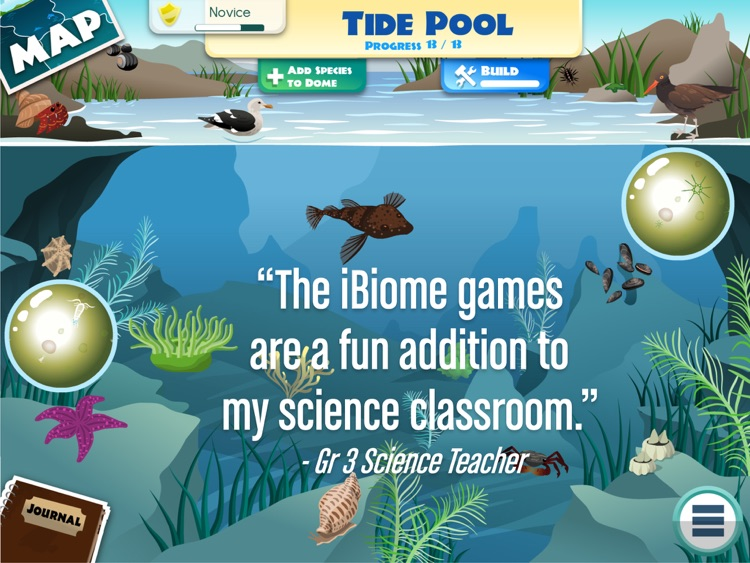 iBiome-Ocean: School Edition screenshot-1