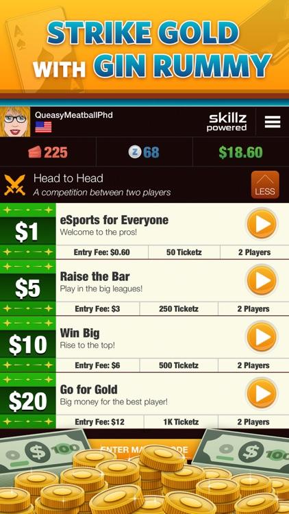 Gin Rummy Gold - Win Real Cash screenshot-3