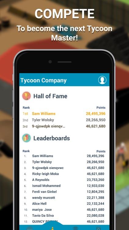 Tycoon Companion App