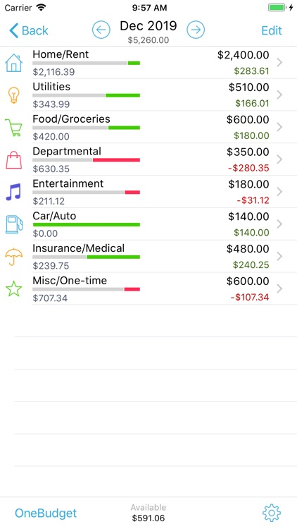 HomeBudget Lite (w/ Sync) screenshot-4