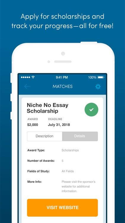 Fastweb College Scholarships screenshot-3