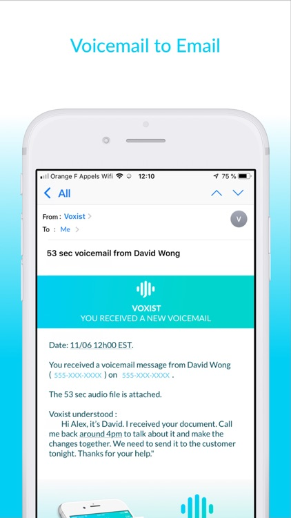 Voxist: Visual Voicemail screenshot-5