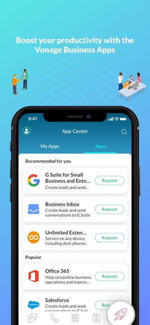 Vonage Business Cloud on the App Store