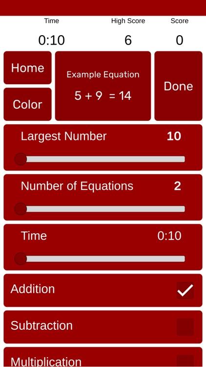 Math Duel: Split Screen Game screenshot-4
