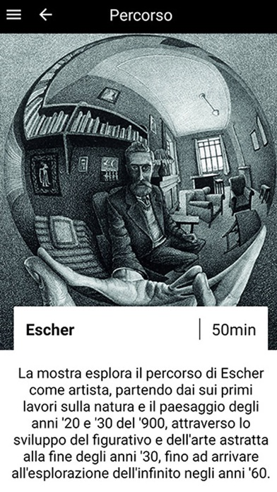Mostra Escher screenshot 1