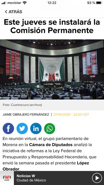 WRadio México para iPhone screenshot-3