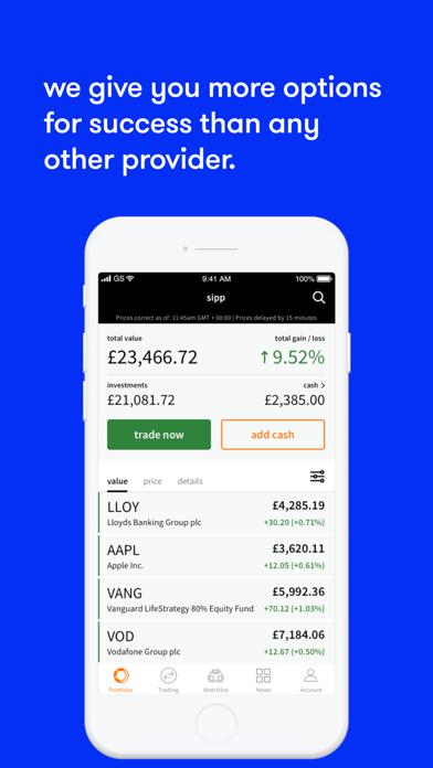 ii investing screenshot four