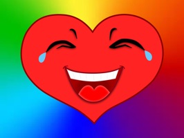 Add more emotion to your text with Hearts Emotio Stickers