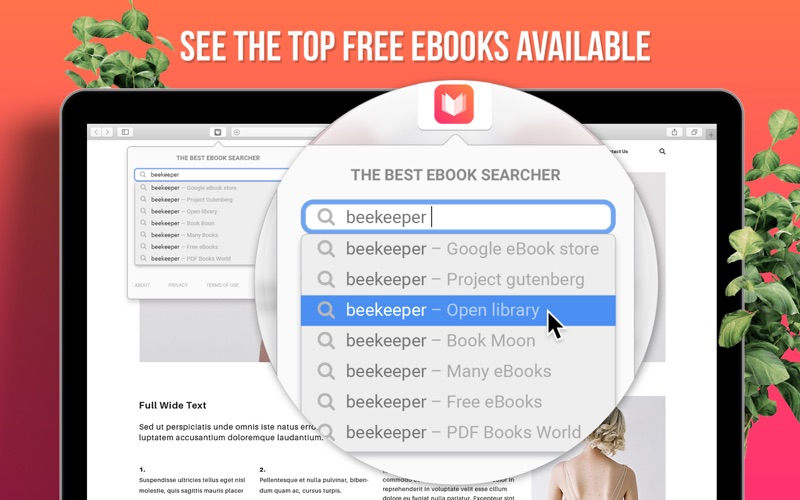 eBook Search Pro for Mac