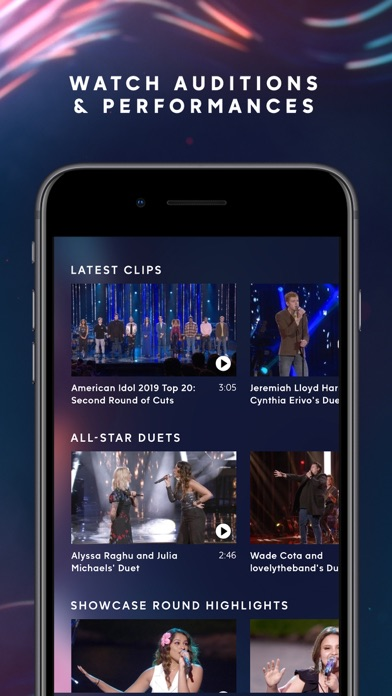 download American Idol apps 2