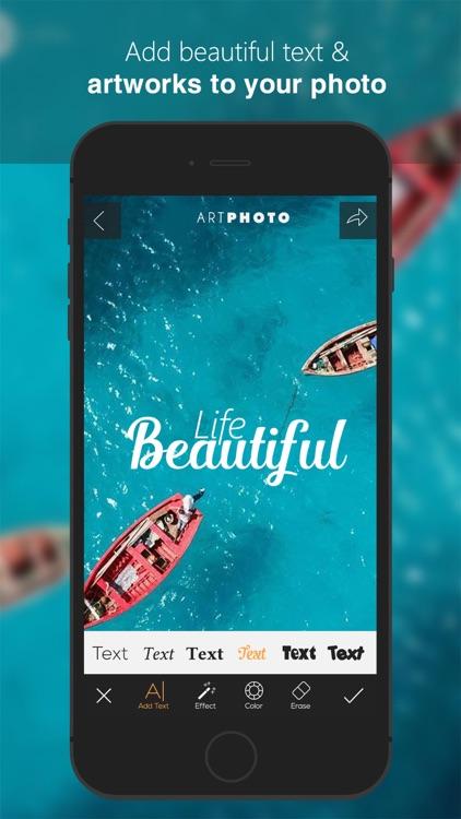 Art Photos Editor & Add text