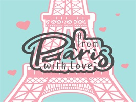 The ParisWithLoveLSD is a small sticker, which are show the 30 Paris With Love LSD sticker in cartoon