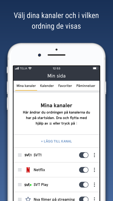 tv.nu - Guide till TV & Play screenshot three