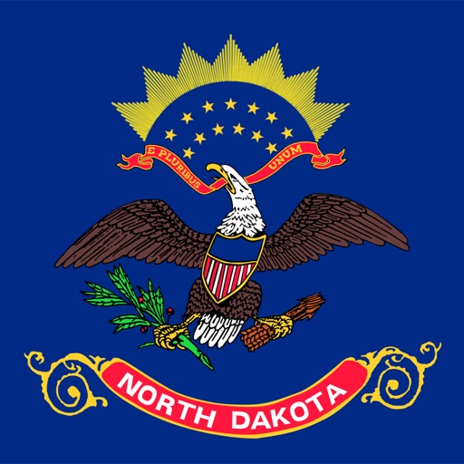 North Dakota - USA stickers
