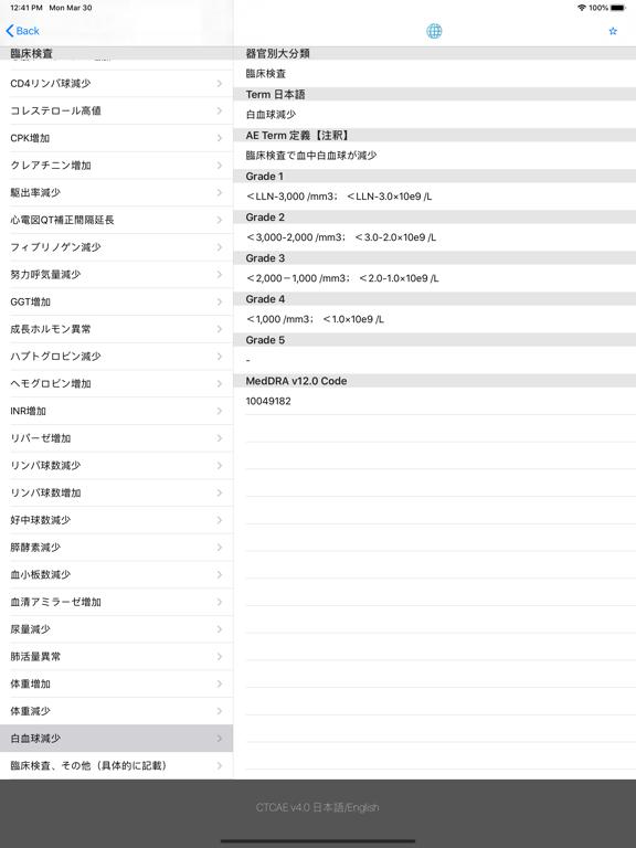 CTCAE v4.0 日本語訳JCOG版 (日/英)のおすすめ画像2