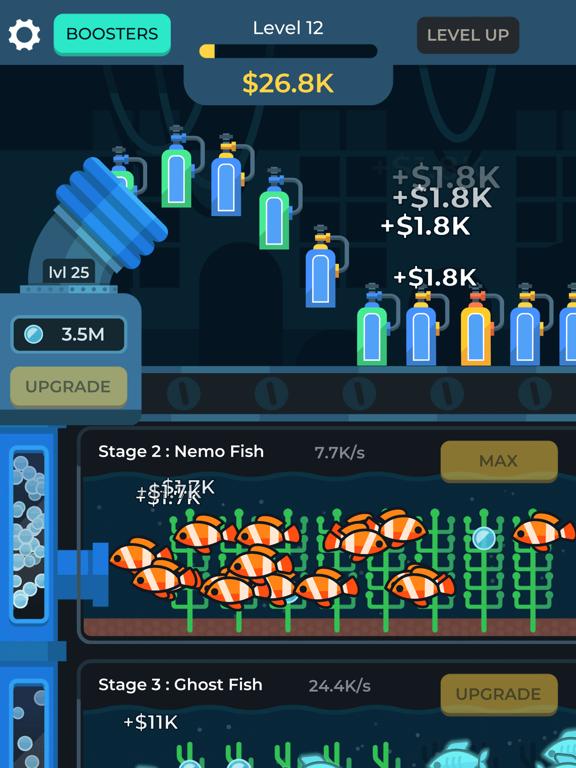 Idle Fish Aquarium screenshot 12