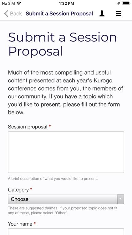 Kurogo Higher Ed Community